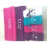 China 100%cotton colored gift towel set wholesale