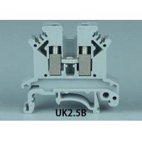 Wholesale 2.0MM UK2.5B Din rail terminal block from china suppliers
