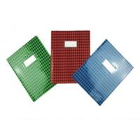 China PVC grid printing Book cover on sale