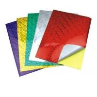 Buy cheap Holographic Paper and Cardboard Sticker,Adhesive Holographic Paper and Cardboard from wholesalers