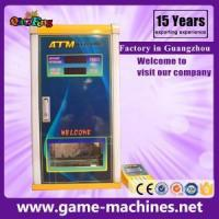 coin exchange cash shopping mall currency money exchanger vending machine