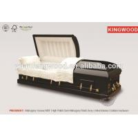 PRESIDENT collapsible coffin lowering device wooden coffin