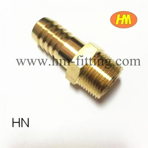 China male hose barb fitting brass pipe fitting