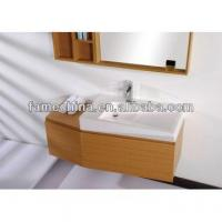 China French style pvc bathroom wash basin cabinet wholesale