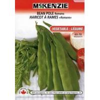 Buy cheap McKenzie Seeds Bean Romano Pole from wholesalers