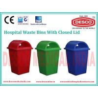 China PLASTIC WASTE BIN CLOSED LID WBPL 101 wholesale