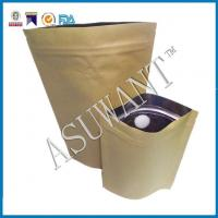 China one way valve coffee bags One Way Valve Kraft Paper Coffee Bag on sale