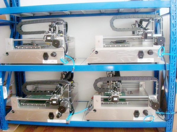 Quality Desktop Pick And Place Machine WITH VISION SMT50 for sale