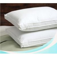 China Down and feather filling pillow insert with high quality casing wholesale