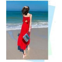 Hot Women's Open Back Wide Legs Chiffon Holiday Jumpsuit Overall Pants