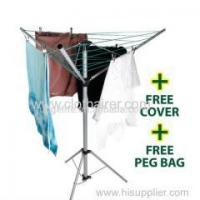 Buy cheap Products 16m Steel Camping Umbrella Rotary Clothes Dryer from wholesalers