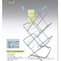 Buy cheap Products Adjustable height 3 tier powder coated clothesline drying rack from wholesalers