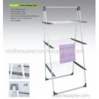 Buy cheap Products Powder Coating Steel 3-tier Towel Clothes Drying Rack from wholesalers