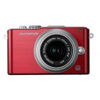 China Olympus E-PL3 Digital Camera with 14-42mm Lens - Red wholesale