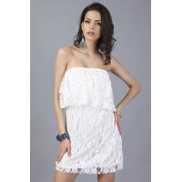 Buy cheap Knee Length Spandex Lace Tops Dress Masquerade New Years Eve from wholesalers