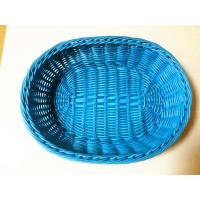 China PP plastic bread baskets/blue fruit baskets wholesale