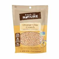 China Crunchy Clusters of Whole Grain Rolled Oats with Orange & Chia Seeds wholesale