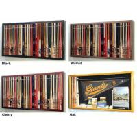 "China Mini 18"" Baseball Bat Display Case Cabinet w/ UV Protection4 WOOD COLORS! wholesale"