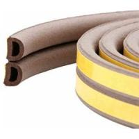 China Multi shaped rubber extruded self-adhesive D section wholesale