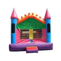 Wholesale Pink Castle 3 Bounce House from china suppliers