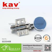 GS35H08 35 cup glass soft close hinge(Fixed)