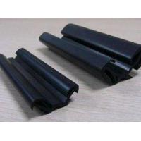 Extruded glazing rubber seal strip