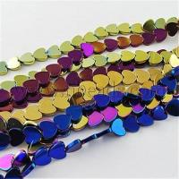China Non-magnetic Hematite Beads Strands, Grade A, Heart, Mixed C...(X-G-Q883-6x6mm-M) wholesale