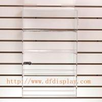 Wholesale SC001AAcrylic slatwall showcase from china suppliers