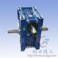 China Worm gear reducer nrv+as(With double output shaft) on sale