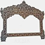 China Wall Decor Style no. M869 - Mother of pearl inlaid mirror on sale