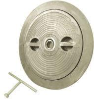 China Flush Deck Hatch | Hex Centerbolt | Oval 15 X 24 | Aluminum, Steel on sale