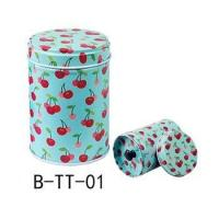 Hot sale Cylindrical Candy Tin Box Coffee Tea Seal Storage Jar Canister Large Capacity