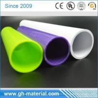 China White Fire Resistant 18mm Diameter PVC Tube Plastic Tube for Cable Protection wholesale