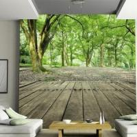 China Photo Wallpaper Waterproof Forest Nature wholesale