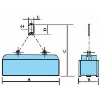 MW82 lifting system class billet, steel ingot lifting electromagnet with ultra-high temperature