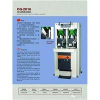 Oil pressing and gold stamping machine|CQ-2016 Double head shoe warping machine