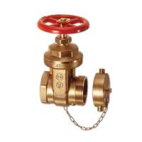 China BRONZE FIRE HOST VALVE BRASS GATE VALVE 2-1/2 A53 wholesale
