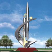 China Decorative Items Abstract Stainless Steel Sculptures Outdoor wholesale