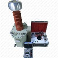 China GDJZ Series Oil Immersed Test Transformer AC DC Hipot Tester for Cable Withstand Voltage Testing on sale