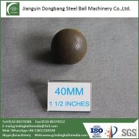 China Forged Steel Ball for Iron Ore Mine on sale