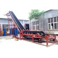 China Round Vibrating Screen Ya Belt Conveyor With High Inclination Angle And Waved Guard Side on sale