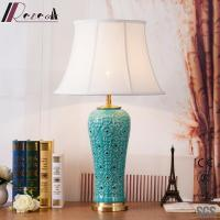 China Simple Blue Cool Crystal Table Lamps /night Table Lamp/end Table Lamps wholesale