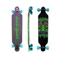 sports equipments Sintai Freeriding Drop Through Longboard skateboard