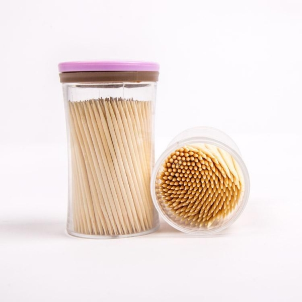 Quality Disposable Natural Bamboo Toothpicks YHTO002 for sale