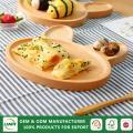 wooden pizza plate for kid