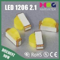 1206 Single Color LED  1206 side view white