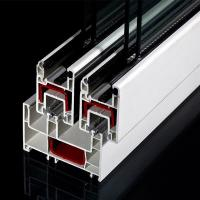 Sliding UPVC Profiles Lightweight PVC Profile
