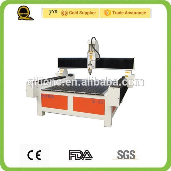 Quality 3D Advertising Label Cutting Machine CNC Router QL-1212 for sale