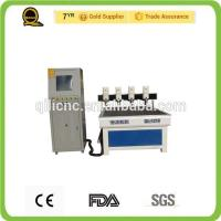 Advertising 3D CNC Router Saw Industries Four Independent Heads QL-1218 Engraving Machine