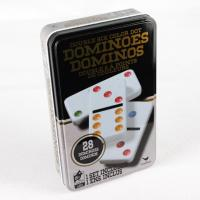 China Metal playing cards games chess tin can wholesale